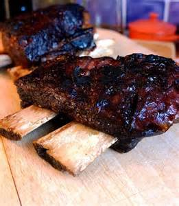 Barbecued Beef Short Ribs Recipe Quick Grill
