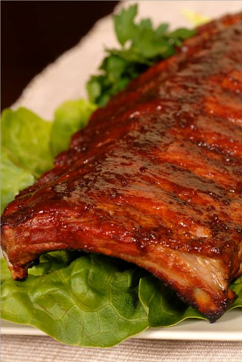 Chipotle Honey Sauce Barbecue Ribs