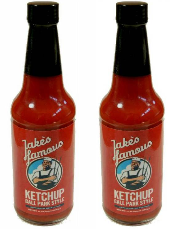 Jake's Famous 2 Pack Ball Park Ketchup 20% OFF