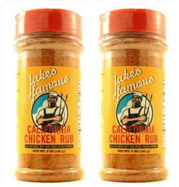 California Chicken Dry Rub for Sale 2 Pack 20% OFF
