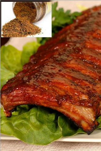 Coriander Tarragon Rib Rub Recipe