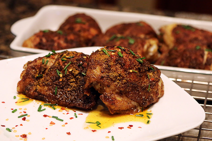 Crusty Chicken Thigh Recipe