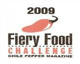 Fiery Food Challenge Award 2009