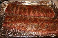Lee's BBQ Ribs In The Oven with Rib Rub and BBQ Sauce Recipe