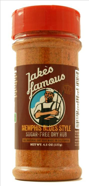 Memphis Blues Sugar Free Dry Rub 5 Oz