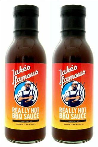 Really Hot Spicy BBQ Sauce Sale 2 Pack 20% OFF