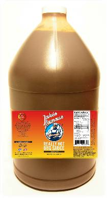 1 Gallon Value Size Really Hot BBQ Sauce