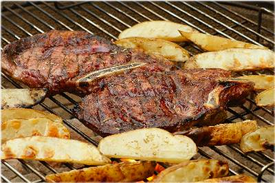 Rib Eye Steak Recipe with flavorful Bourbon Marinade