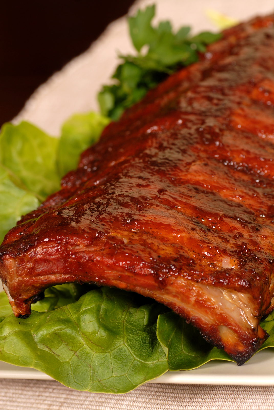 Sesame Glazed Baby Back Pork Ribs