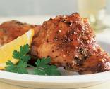 Roasted Chicken in Kiwi Lime Asian Demi Glace Recipe