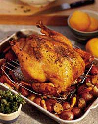 Balsamic Roasted Chicken W/ Red Potatoes Recipe