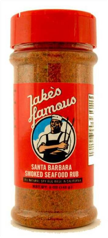 Santa Barbara Smoked Seafood Rub 5 Oz