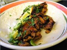 Carne asada taco wrap