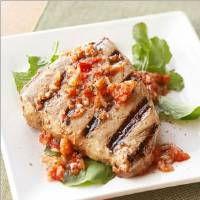 Fish Marinated With Tomato Caper Paste Recipe
