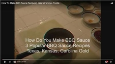 How To Make Homemade BBQ Sauce Recipes