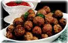 Gourmet Meat Balls In Kiwi Raspberry Marinade