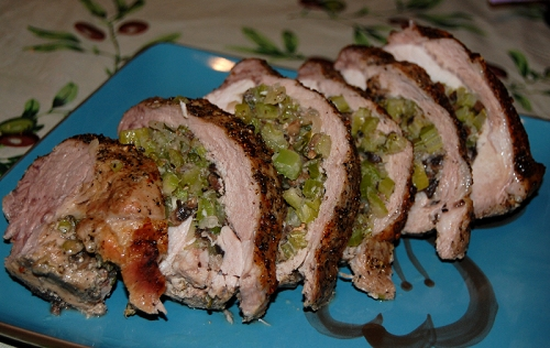 Herb Stuffed Pork or Flank Steak Recipe