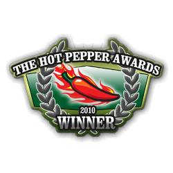 Winner 2010/2011 Hot Pepper Awards