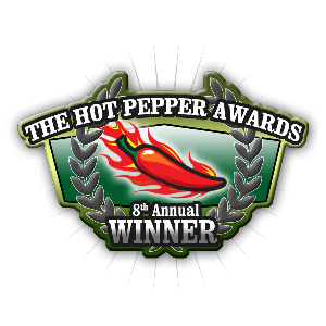 Winner Hot Pepper Awards 2013/2014